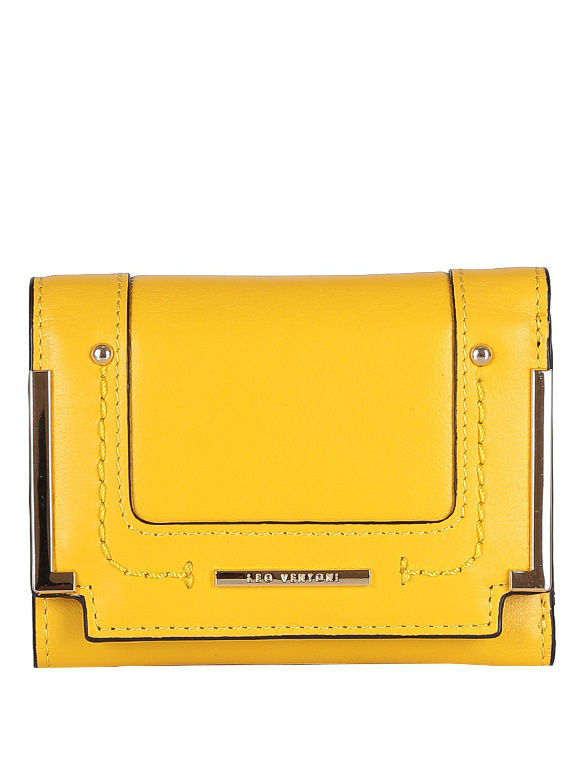 Кошелек Leo Ventoni L330891-yellow/nero