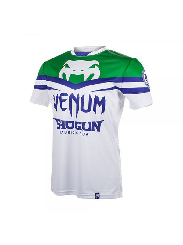 Футболка Venum Футболка Venum Shogun UFC161 Edition Dry Fit White/Green venum women body fit m