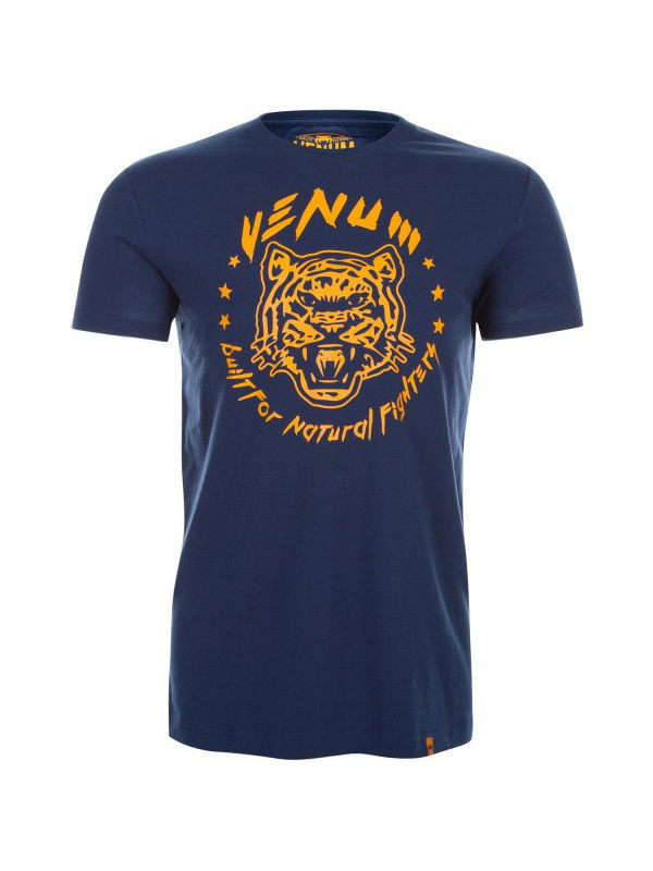 Футболка Venum Футболка Venum Natural Fighter Tiger - Blue футболка venum футболка venum tornado black cyan