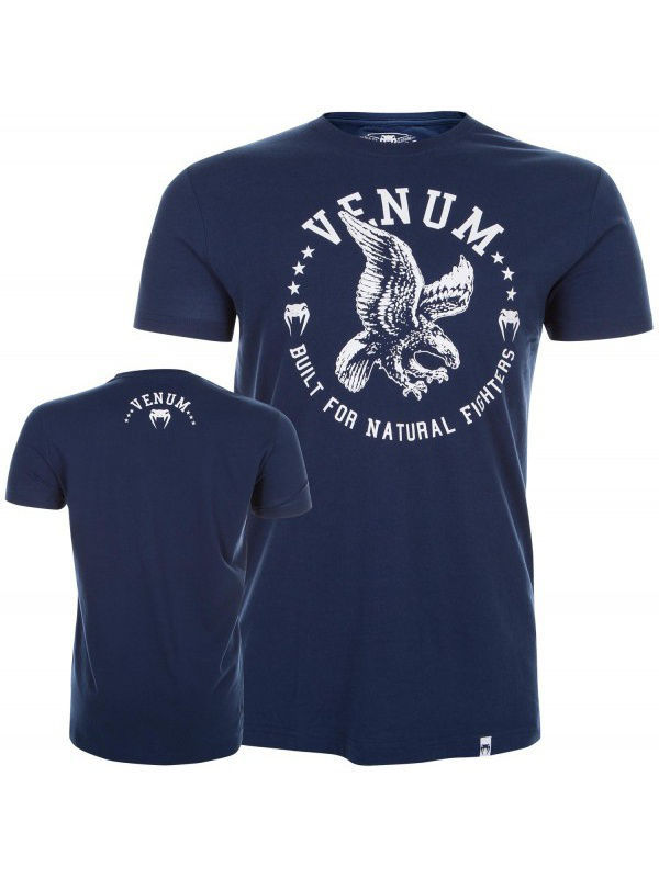 Футболка Venum Футболка Venum Natural Fighter Eagle - Blue футболка venum футболка venum tornado black cyan