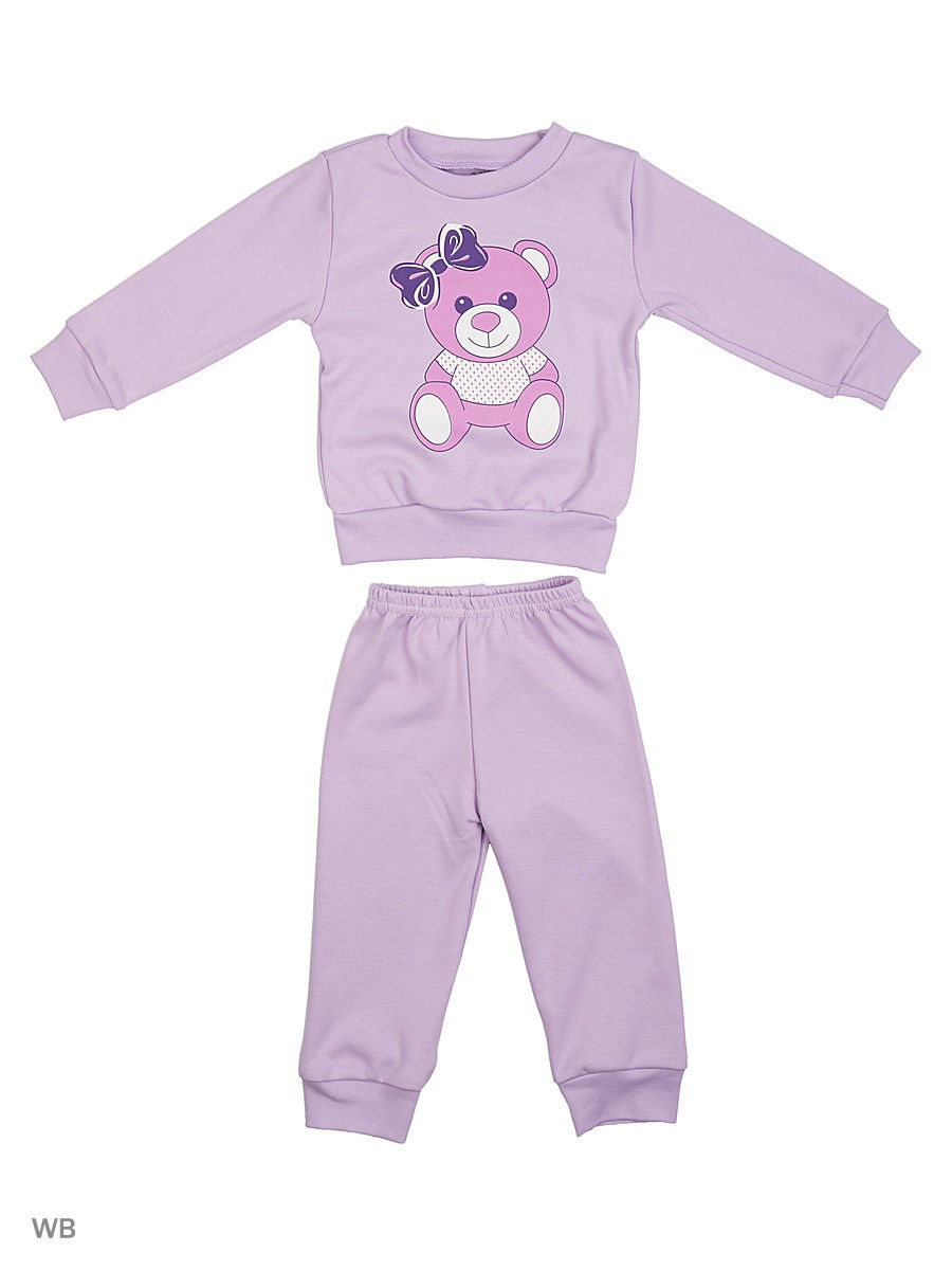 Пижама Babycollection 2LT-58723/сиреневый