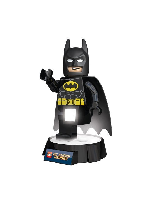 Ночники Lego. Игрушка-минифигура-фонарь LEGO DC Super Heroes (Супер Герои DC)-Batman (Бэтмен) на подставке loft industrial american vintage wall lamp indoor lighting bedside lamps wall lights for home edison bulbs 110v 220v 40w wll 338