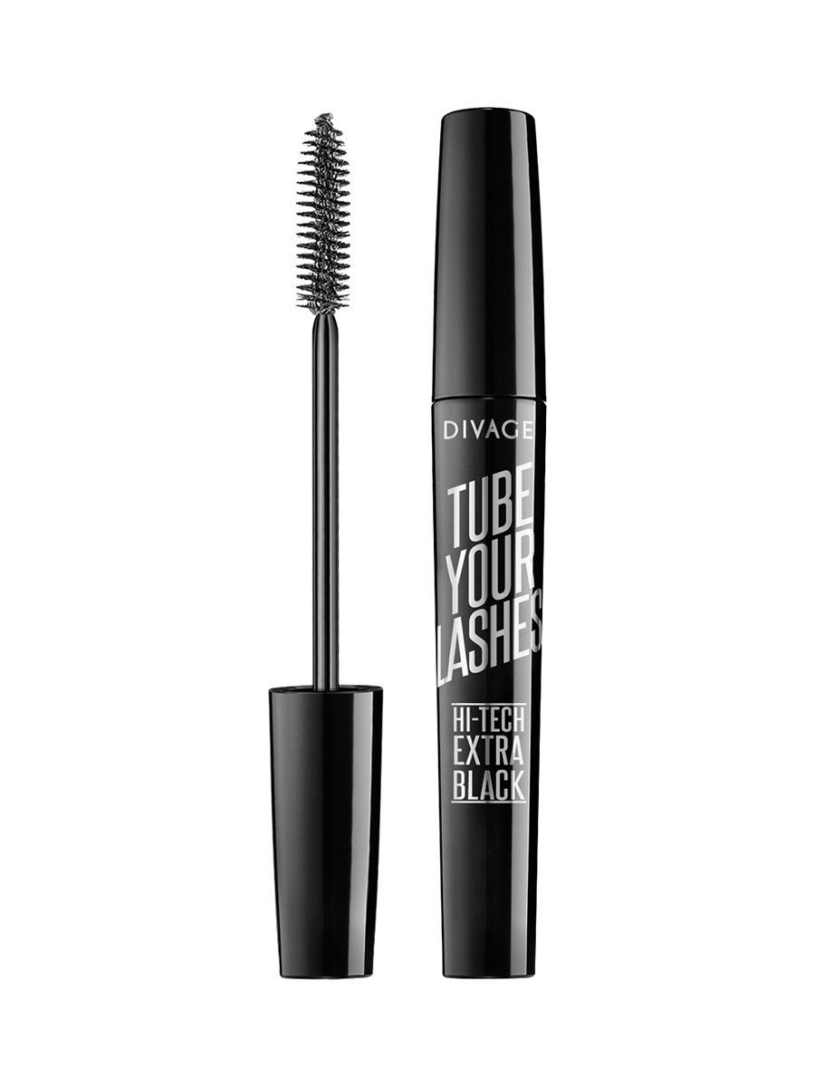 Туши DIVAGE Divage Тушь tube Your Lashes - Extra black № 01 туши divage тушь для ресниц mascara tube your lashes тон 04