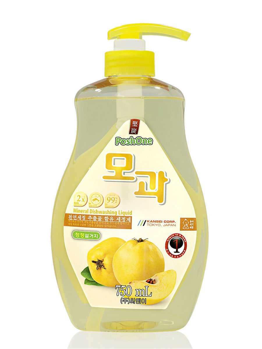 Средства для мытья посуды POSH ONE Средство для мытья посуды Posh one Dishwashing Liguid Quince l с экстрактом айвы средства для мытья посуды posh one средство для мытья посуды posh one dishwashing liguid pomegranate с экстрактом граната
