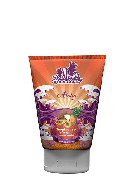 Кремы Hawaiiana Tropiccoco Bronzing Cocktail - крем-коктейль для загара c бронзаторами крем для загара