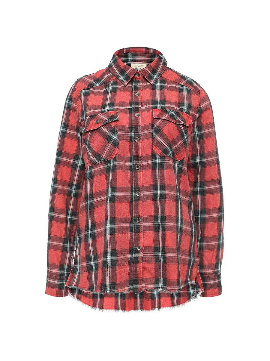 Рубашка ж FLANNEL FRENZY BILLABONG Z3SH02/4210