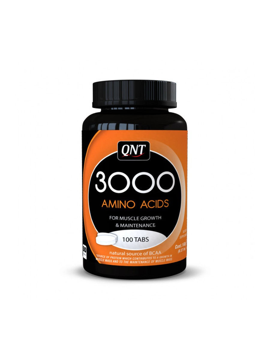 Аминокислоты QNT Amino Acid 3000 mg (100 таб)