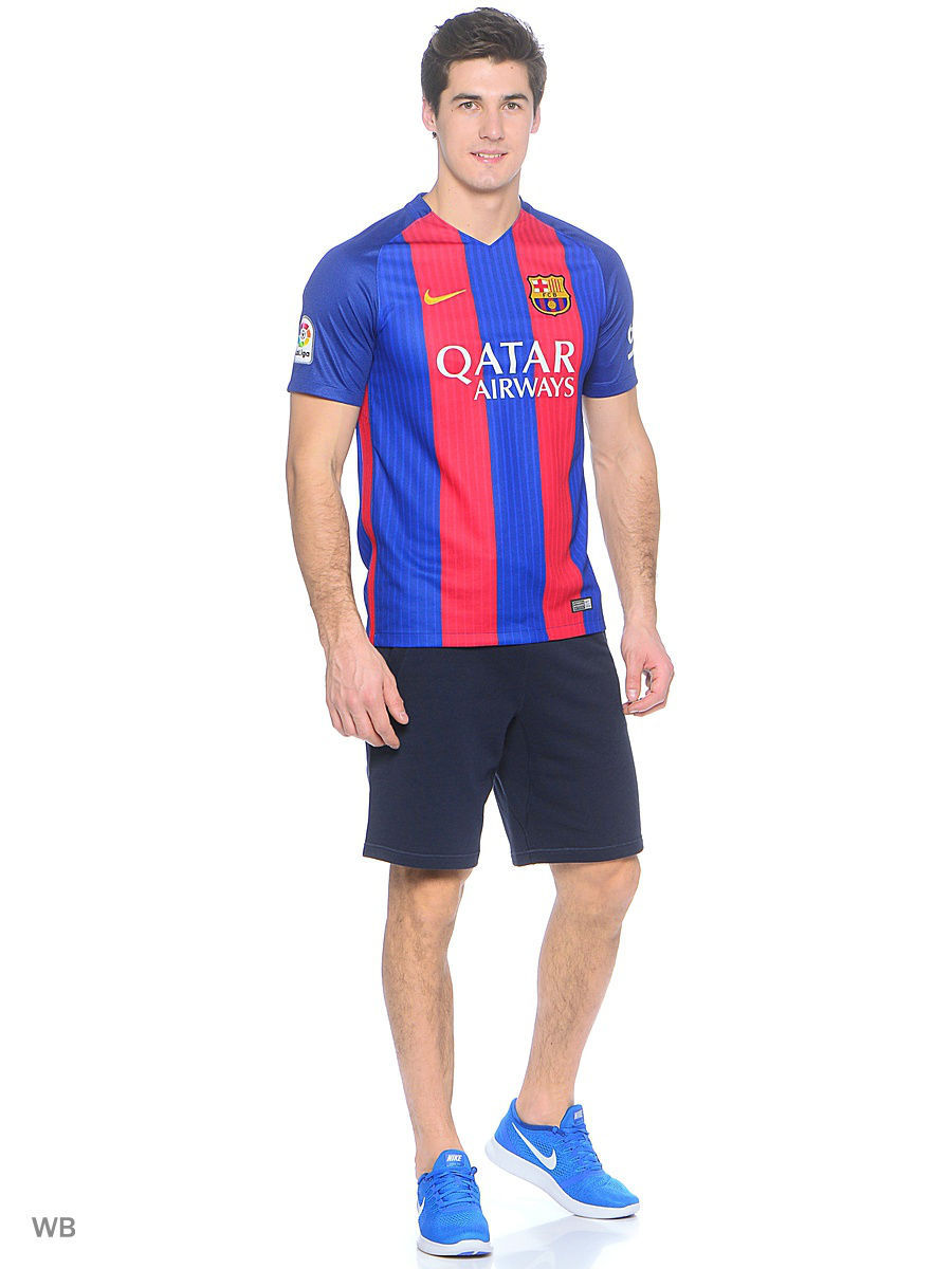 Шорты Nike Шорты FCB M NSW SHORT FT AUT шорты nike шорты fcb ha gk stadium short