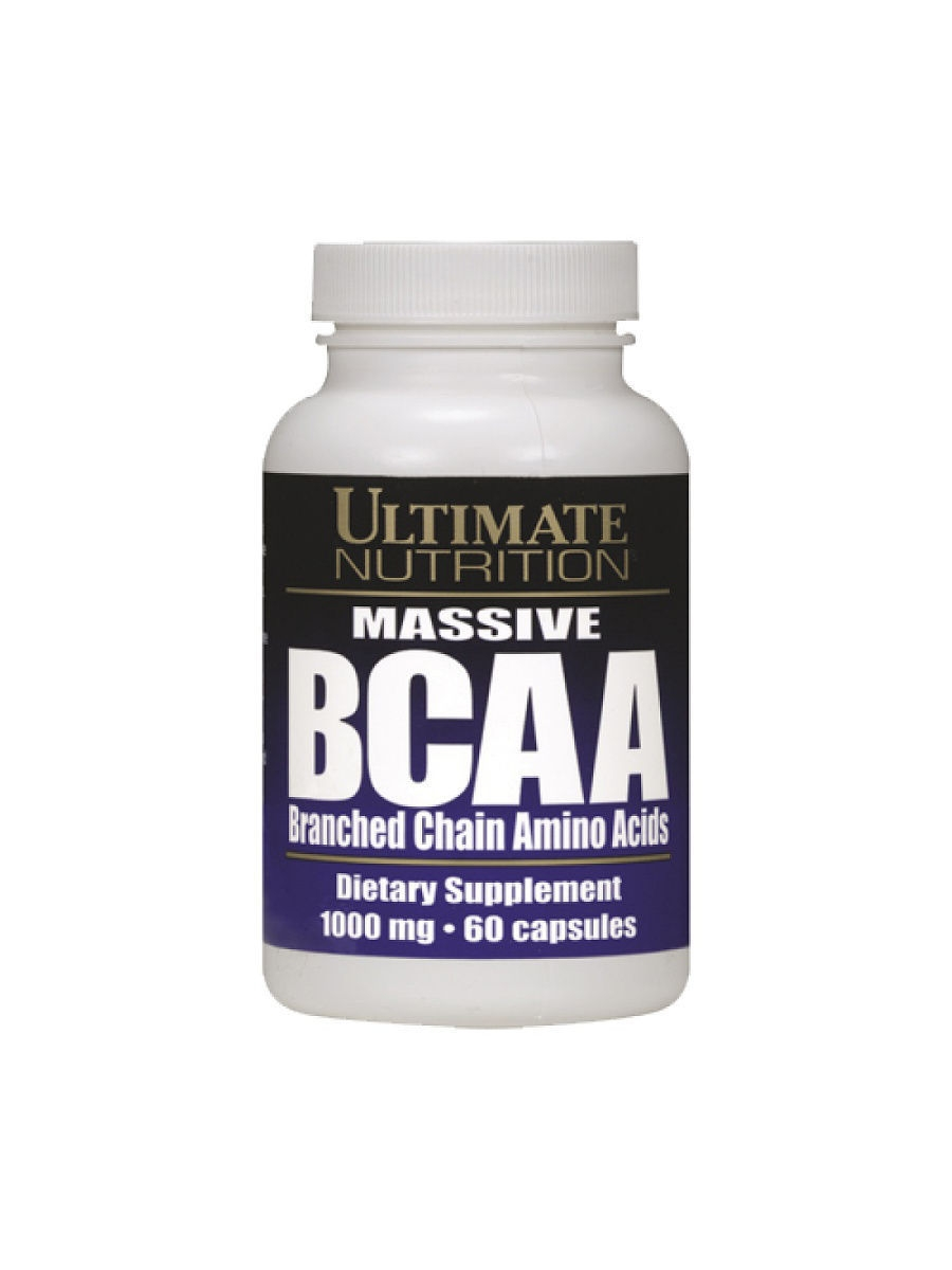 Аминокислоты Ultimate Nutrition BCAA 1000 mg (60c)