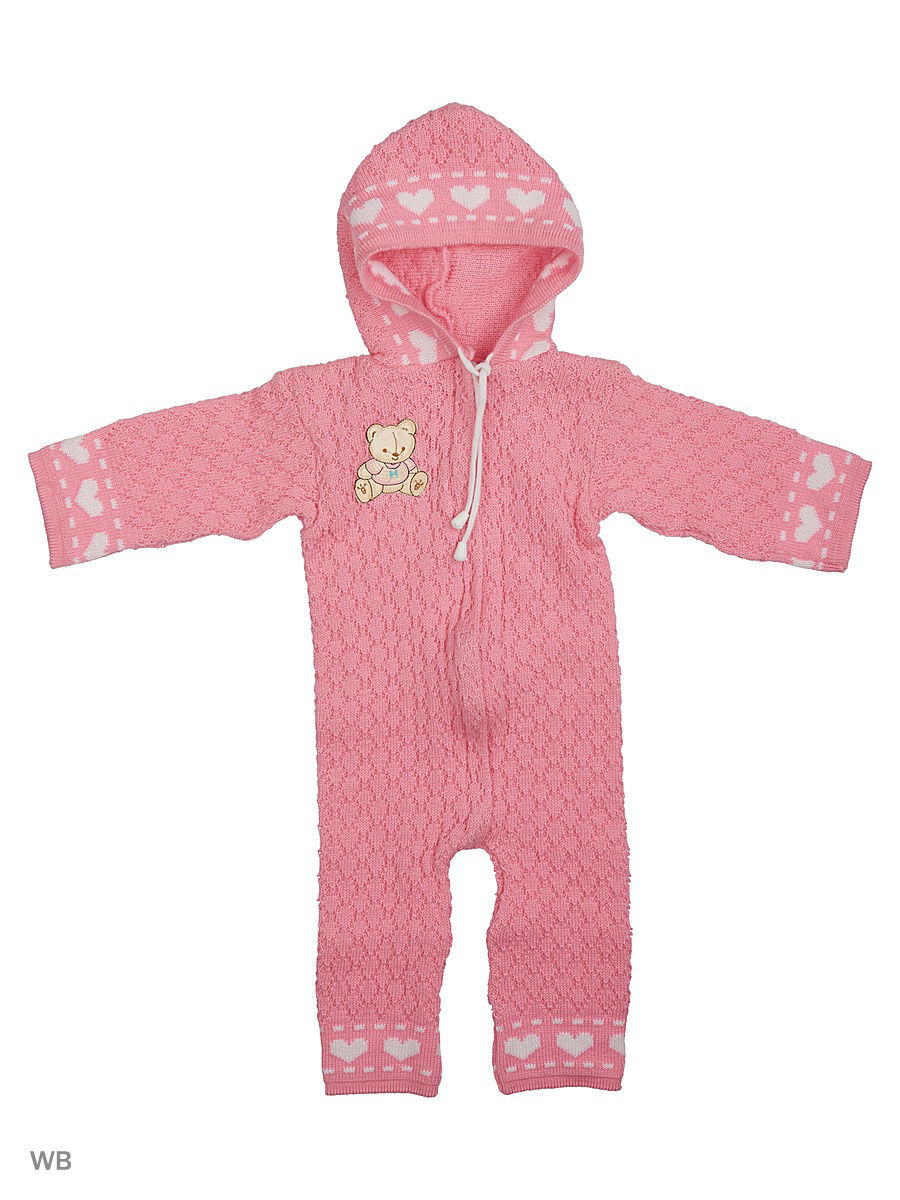 Комбинезон Babycollection 5CR-209/d/розовый