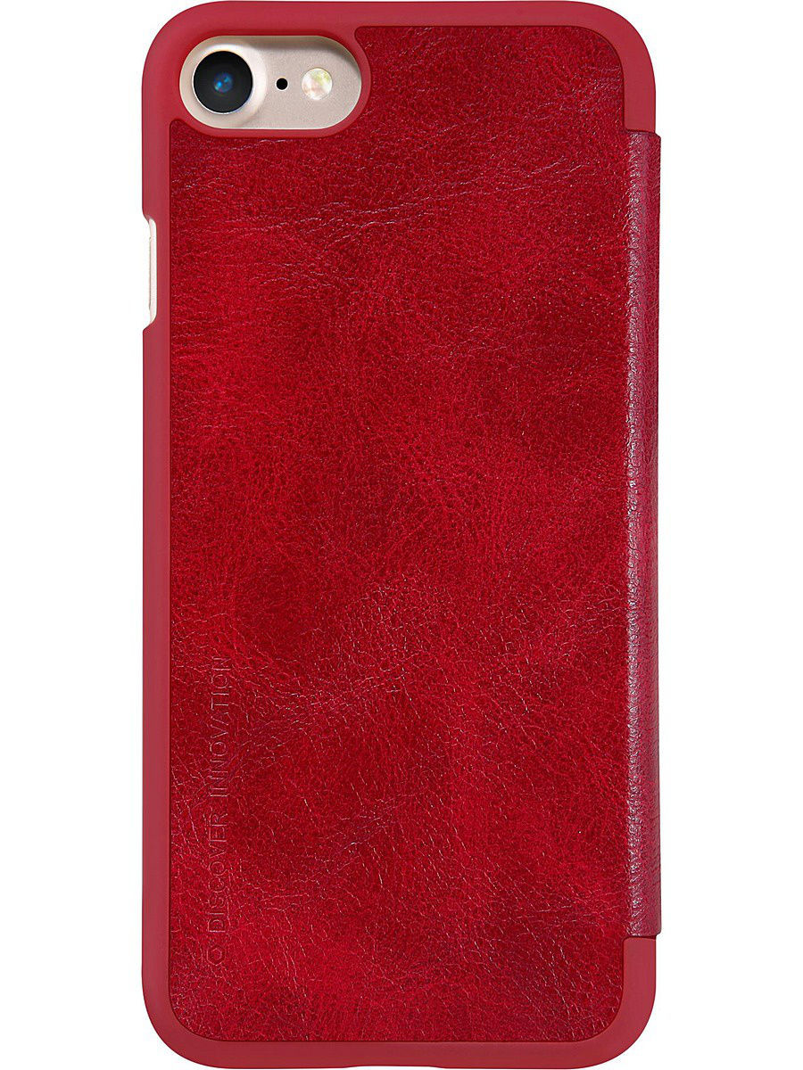 Чехлы для телефонов Nillkin Чехол Nillkin Qin leather case для Apple iPhone 7. чехол slim case для apple ipad 9 7