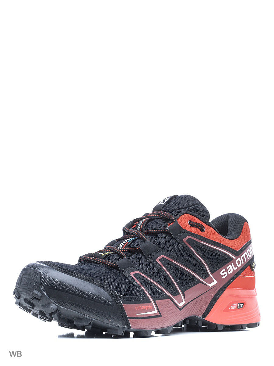 Кроссовки SALOMON Кроссовки SHOES SPEEDCROSS VARIO GTX BK/RADIANT.R