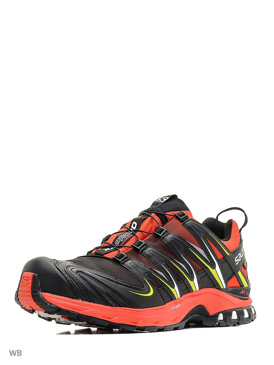 Кроссовки SHOES XA PRO 3D GTX RADIANT.R/BK/GECKO SALOMON L39185800