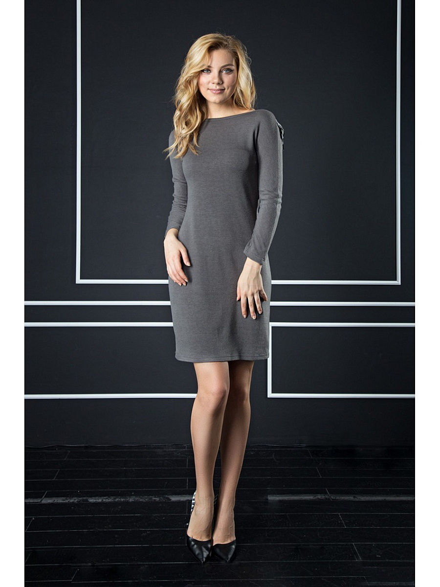 Платье Appledress DT11Gray