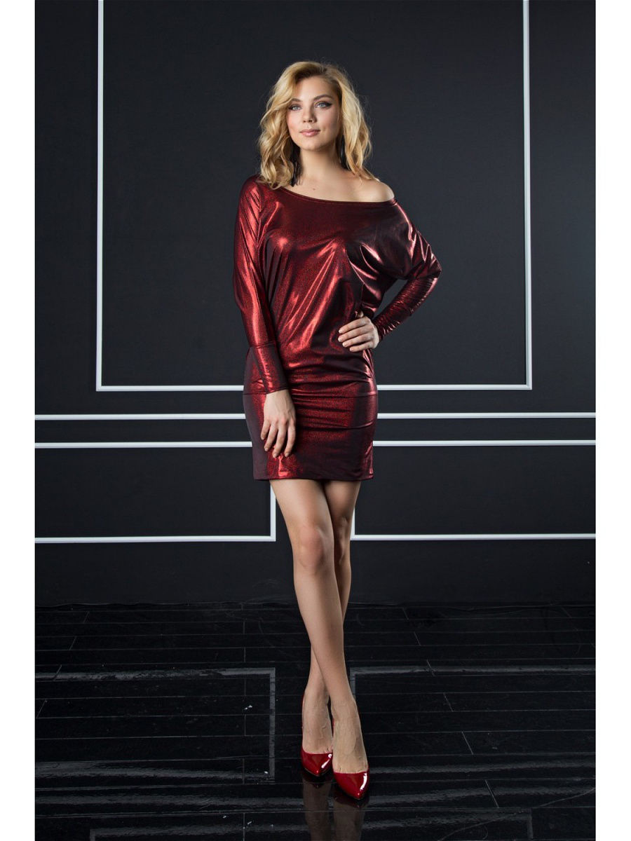 Платье Appledress DT27Bordo
