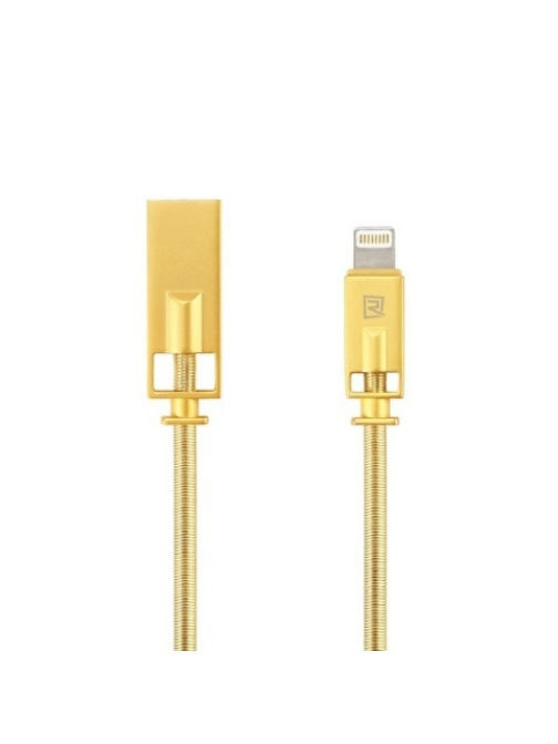 Кабели REMAX Usb Apple iPhone 5 / 5S кабель Remax RC-056i Gold кабели remax аудио разветвитель jack 3 5 remax rl s20 gold