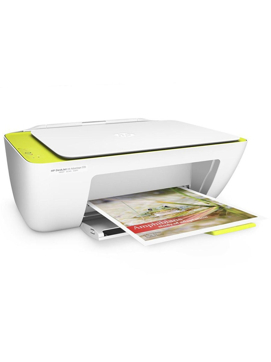 HP Струйный МФУ HP DeskJet Ink Advantage 2135 (F5S29C) A4 USB белый
