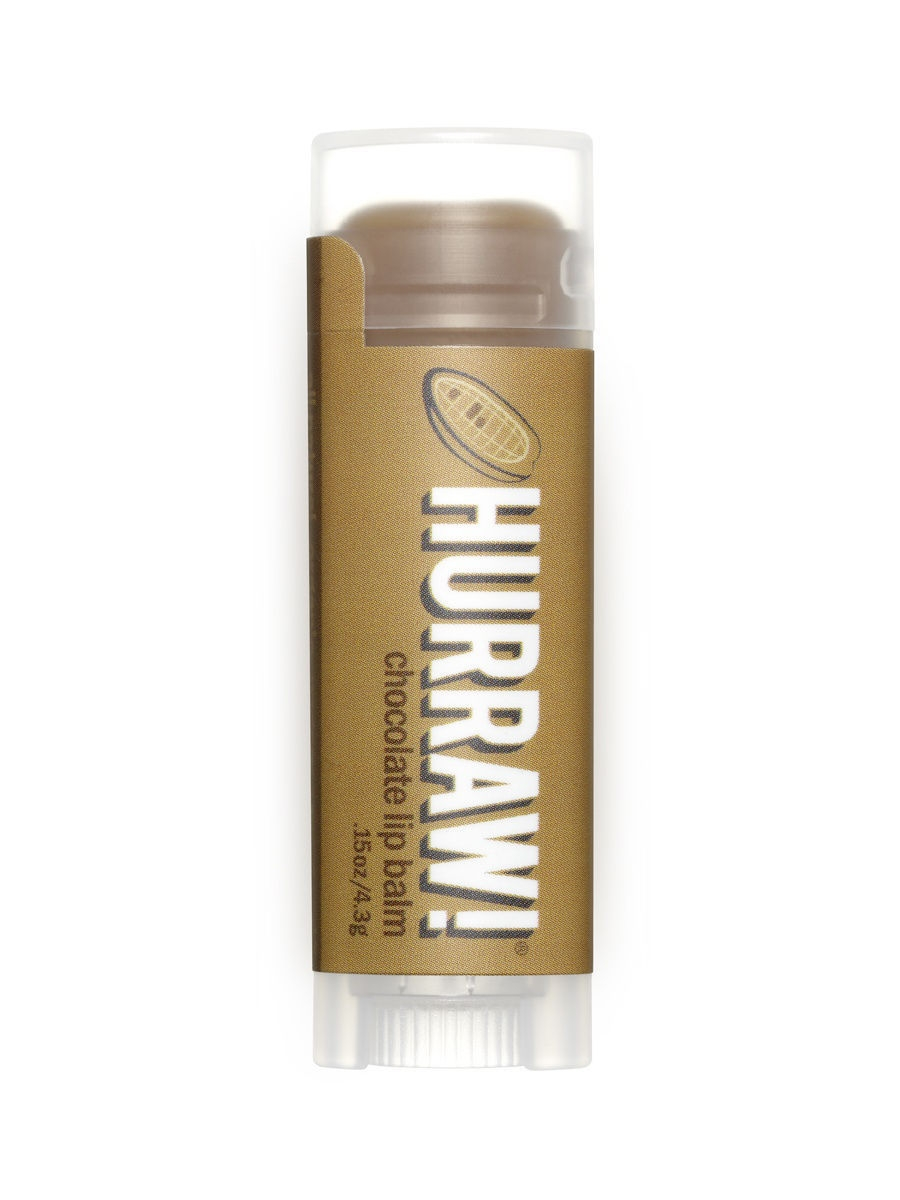 Бальзамы HURRAW! Бальзам для губ Hurraw! Chocolate Lip Balm hurraw бальзам для губ grapefruit lip balm 4 3 г