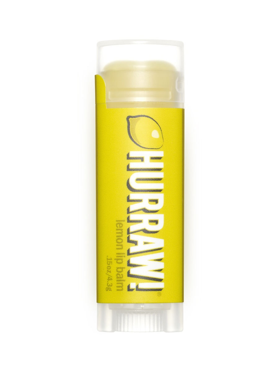 Бальзамы HURRAW! Бальзам для губ Hurraw! Lemon Lip Balm бальзам для губ hurraw licorice lip balm
