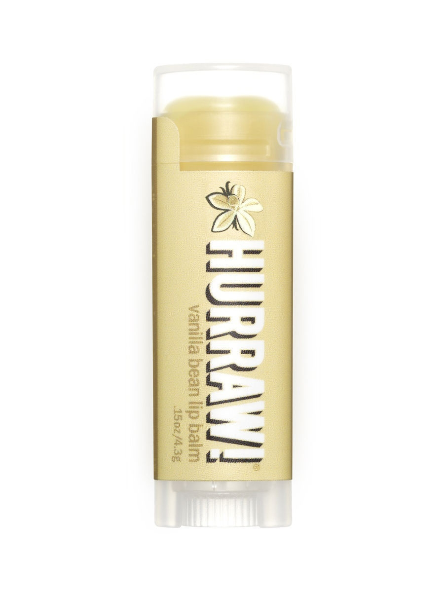 Бальзамы HURRAW! Бальзам для губ Hurraw! Vanilla Bean Lip Balm hurraw бальзам для губ grapefruit lip balm 4 3 г