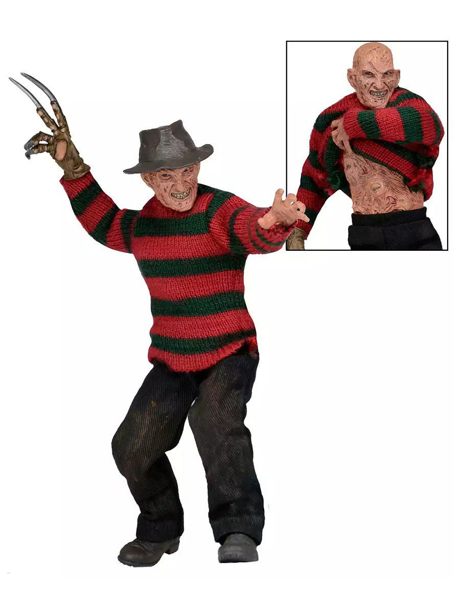 Фигурки Neca Фигурка Nightmare on Elm Street - 8 Clothed Figure - Dream Warriors Freddy neca a nightmare on elm street 3 dream warriors pvc action figure collectible model toy 7 18cm kt3424