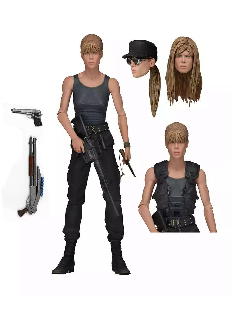 Фигурки Neca Фигурка Terminator 2 - 7 Action Figure - Ultimate Sarah Connor фигурки neca фигурка robocop vs the terminator 7 endoskeleton 2 pack