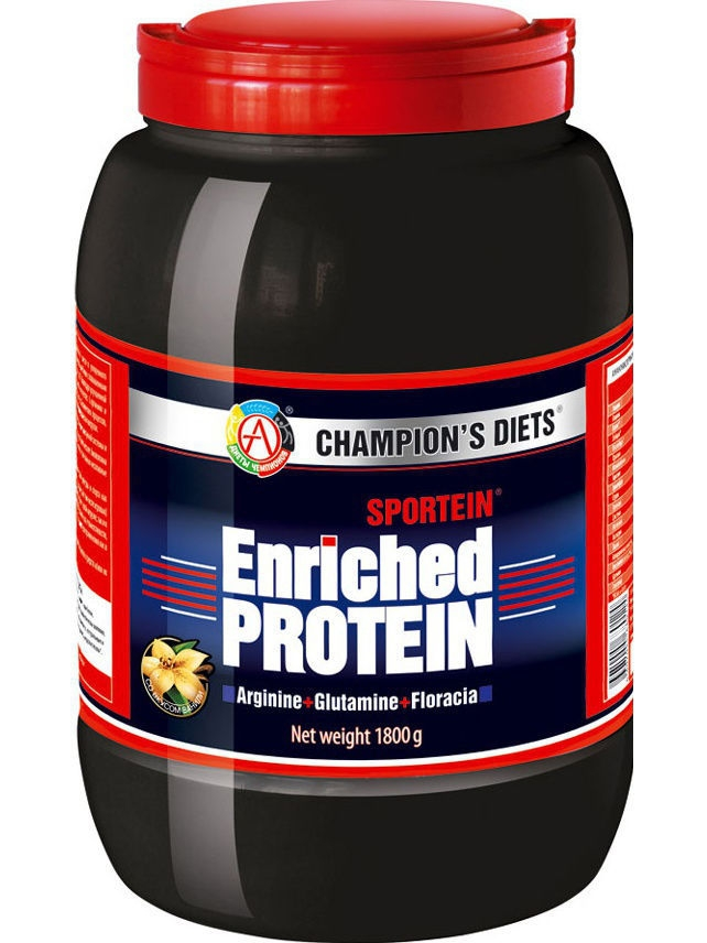 Протеин Академия-Т Sportein Enriched Protein (1800 гр.) (ваниль) fit gainer 750 гр ваниль fitness formula академия т