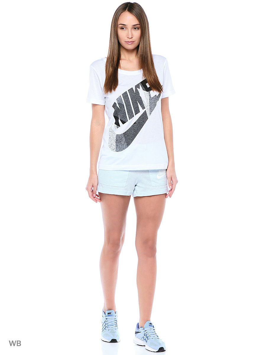 Футболка Nike Футболка W NSW TEE SS SKYSCRAPER футболка nike футболка b nsw tee ss air world