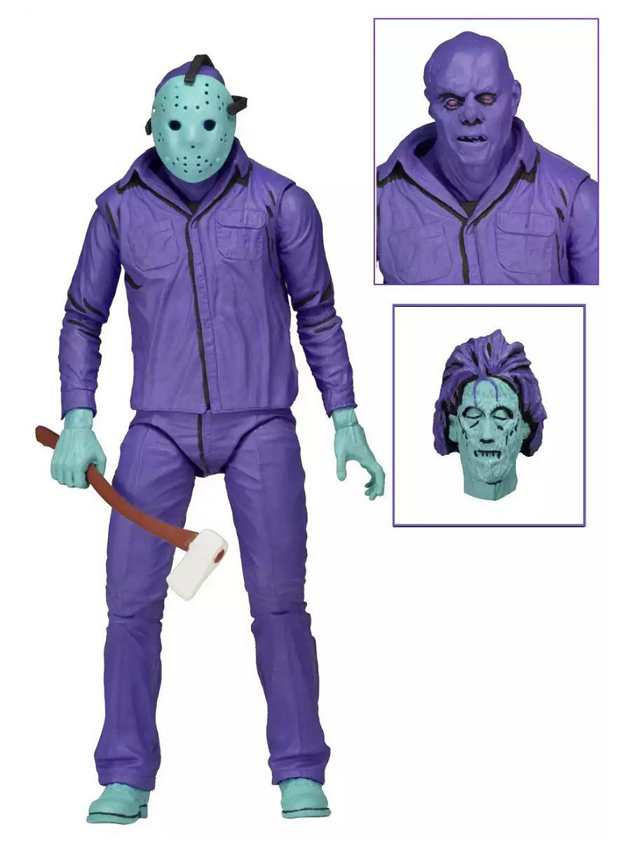 Фигурки Neca Фигурка Friday the 13th - 7 Scale Figure - Jason reciprocating gas file file pneumatic vibration grinding machine grinding machine bd 0049