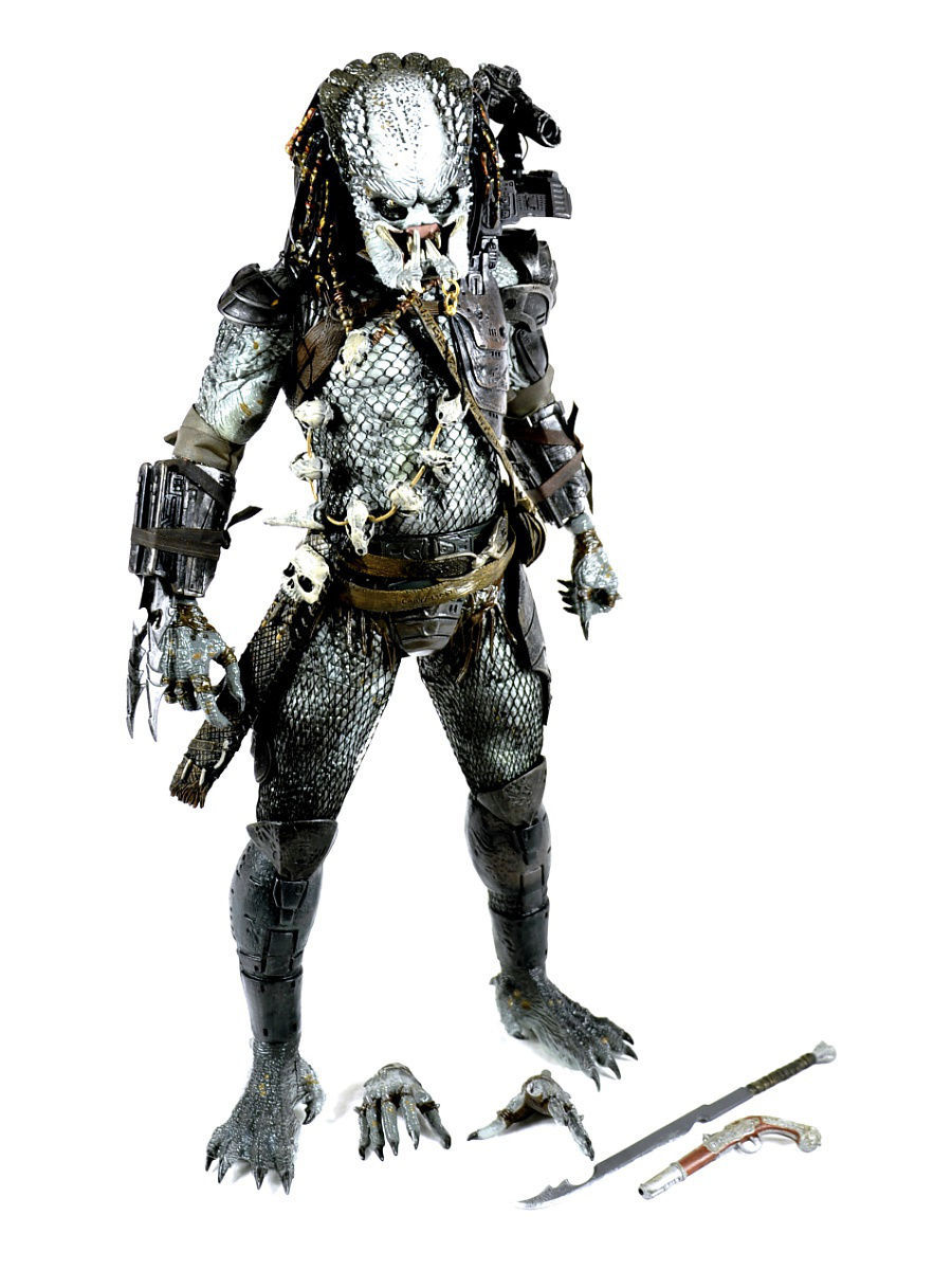 Фигурки Neca Фигурка Predators 2 - 1/4 Scale Series 3 - Elder Predator neca kontra bill