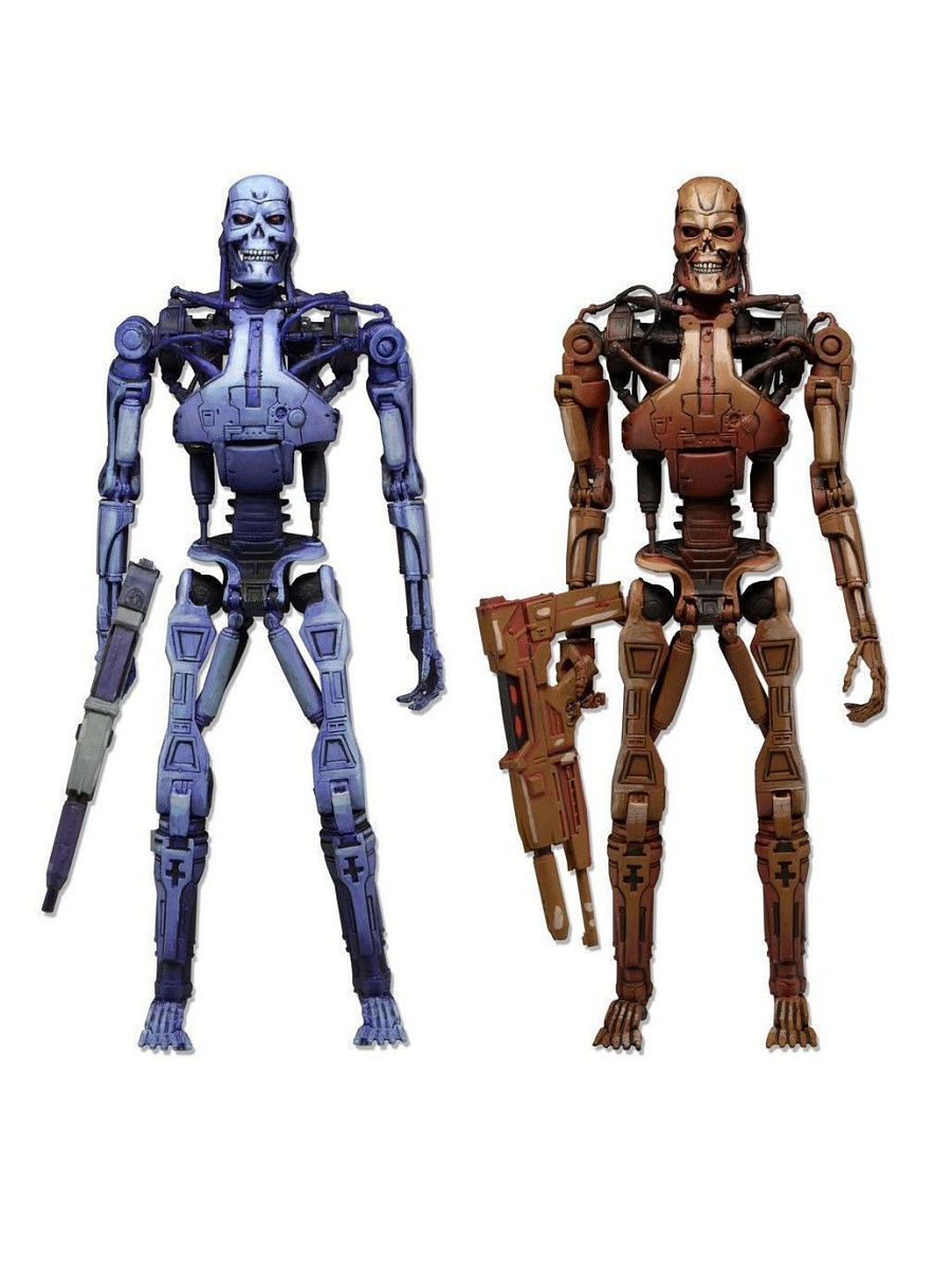 Фигурки Neca Фигурка Robocop vs The Terminator 7 Endoskeleton 2-Pack фигурки neca фигурка robocop vs the terminator 7 endoskeleton 2 pack