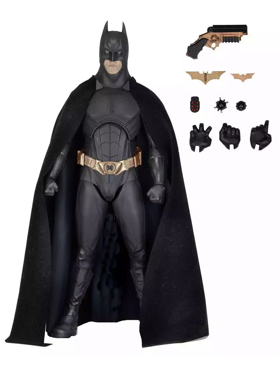 Фигурки Neca Фигурка Batman Begins - 1/4 Scale Figure - Batman (Bale) фигурки neca фигурка heroes of the storm 7 scale action figure series 2 tyrael