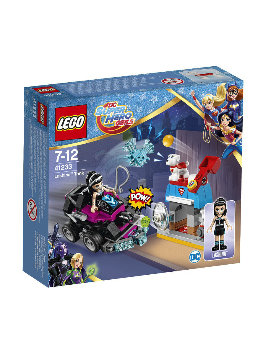 Конструкторы Lego LEGO DC Super Hero Girls Танк Лашины 41233 конструктор bela super hero girls танк лашины 147 дет 10613