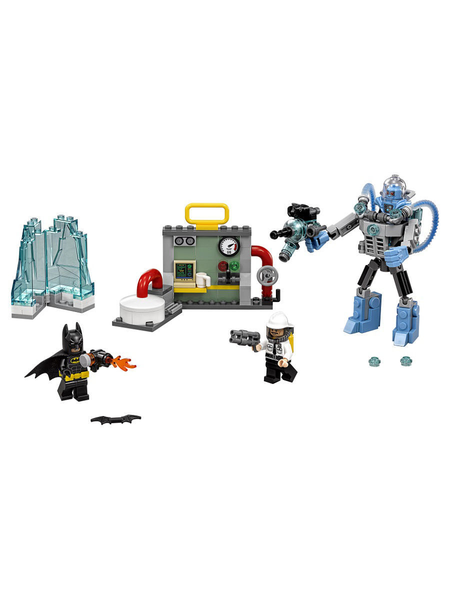 Конструкторы Lego LEGO Batman Movie Ледяная aтака Мистера Фриза 70901 конструкторы lego lego атака глиноликого 70904 batman movie
