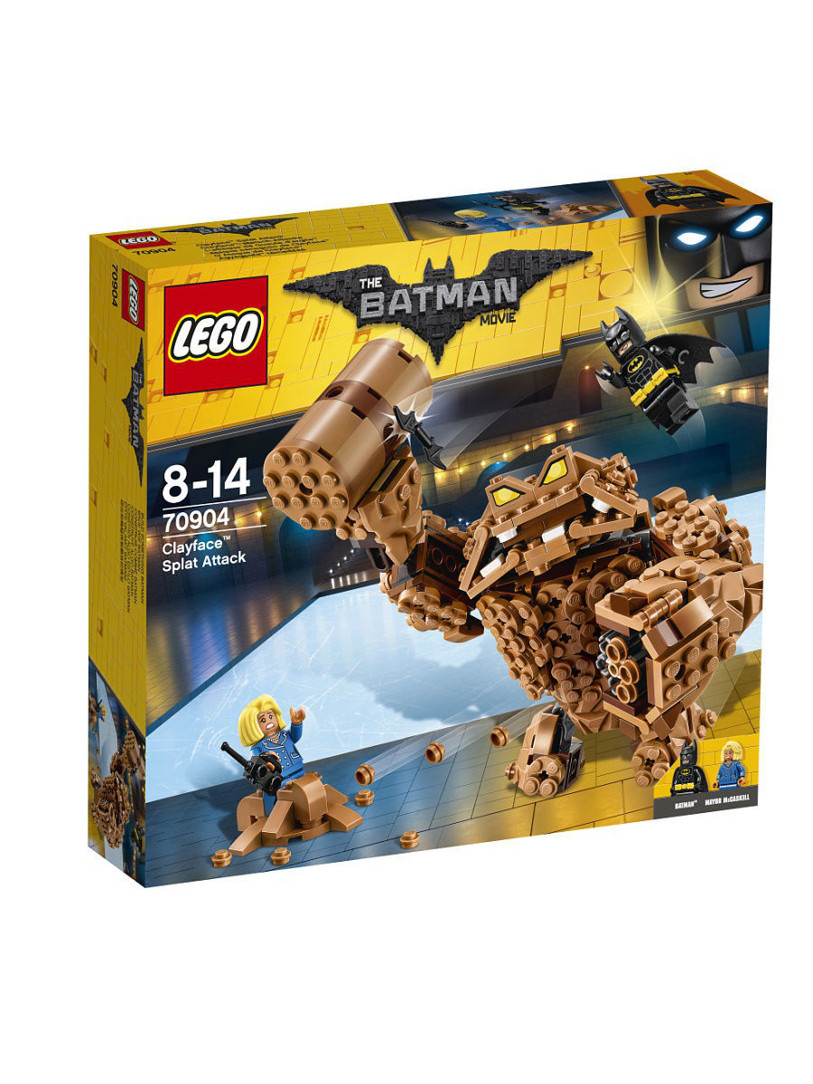 Конструкторы Lego LEGO Атака Глиноликого 70904 Batman Movie конструкторы lego lego атака глиноликого 70904 batman movie