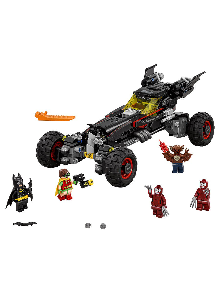 Конструкторы Lego LEGO Batman Movie Бэтмобиль 70905 конструкторы lego lego атака глиноликого 70904 batman movie