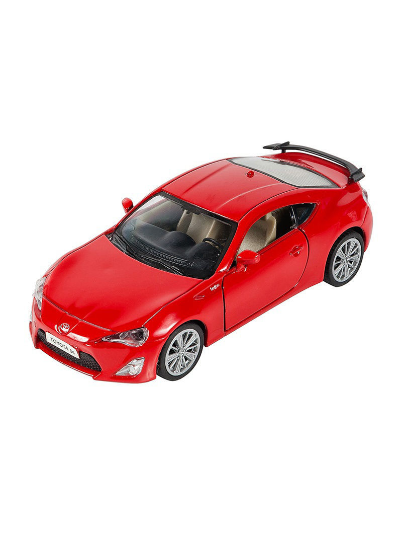 Машинки Pit Stop Машинка Инерционная Toyota GT-86, Красная (1:41-1:32) (PS-0616311-R) машинки pit stop машинка porsche cayenne turbo красная 1 43 ps 444012 r