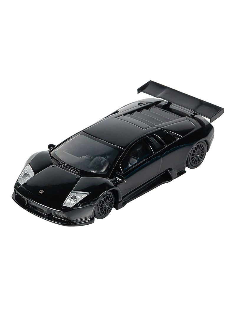 Машинки Pit Stop Машинка Lamborghini Murcielago R-GT, Черная (1:43) (PS-0616403-BL)