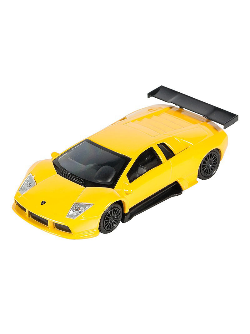 Машинки Pit Stop Машинка Lamborghini Murcielago R-GT, Желтая (1:43) (PS-0616403-Y) машинки pit stop машинка porsche cayenne turbo красная 1 43 ps 444012 r
