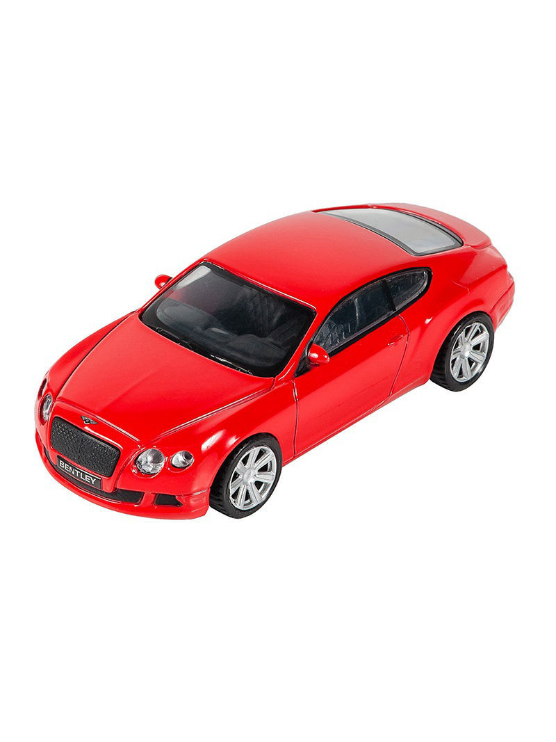 Машинка Bentley Continental GT, Красная (1:43) (PS-0616407-R)