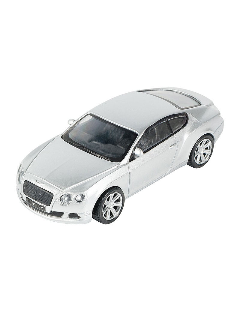 Машинка Bentley Continental GT, Серебро (1:43) (PS-0616407-S)