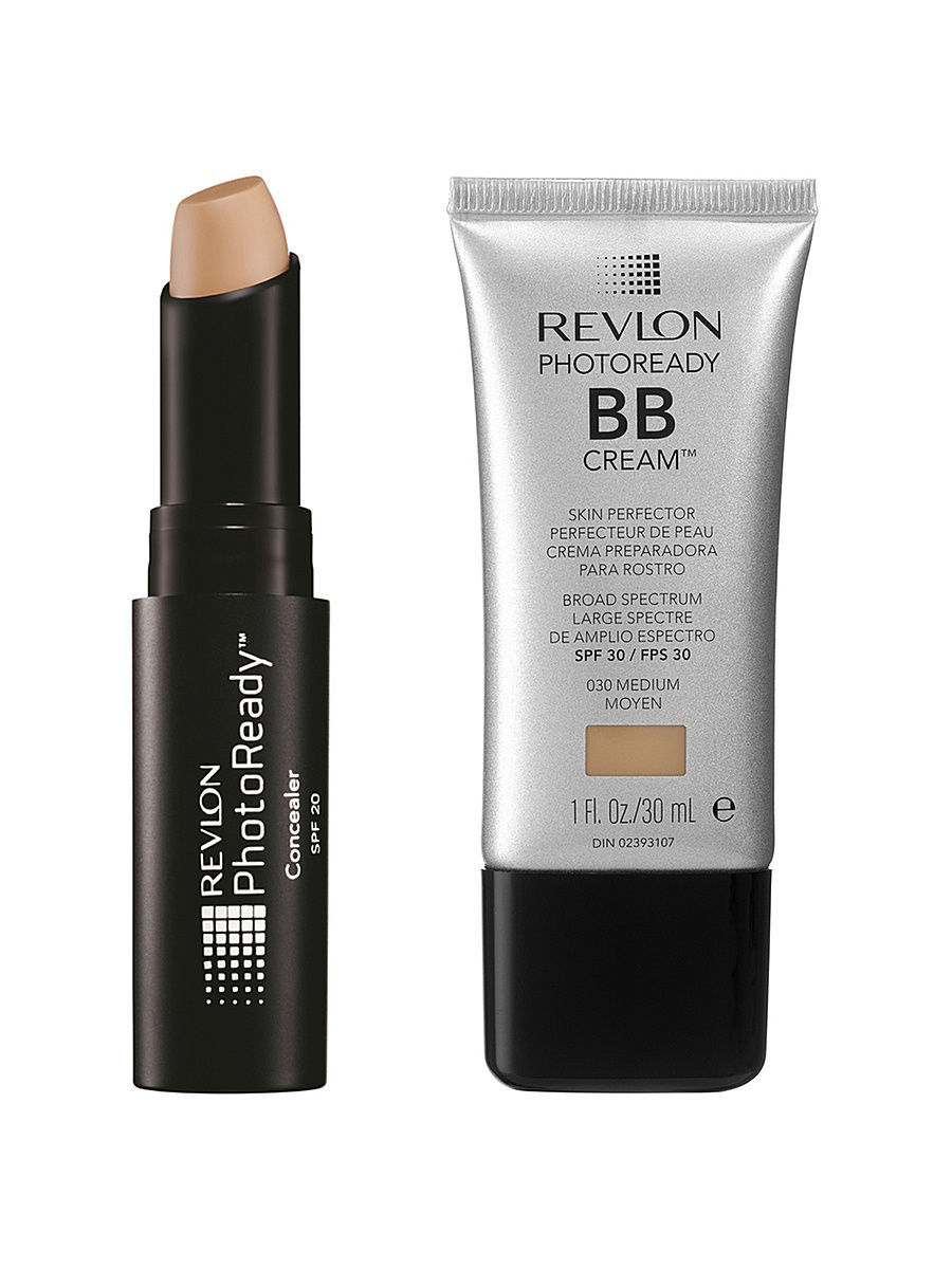 Наборы декоративной косметики Revlon Revlon Набор: 002 bb крем photoready bb cream medium 030 + консилер для лица bb крем bellápierre derma renew bb cream medium цвет medium variant hex name d7a278