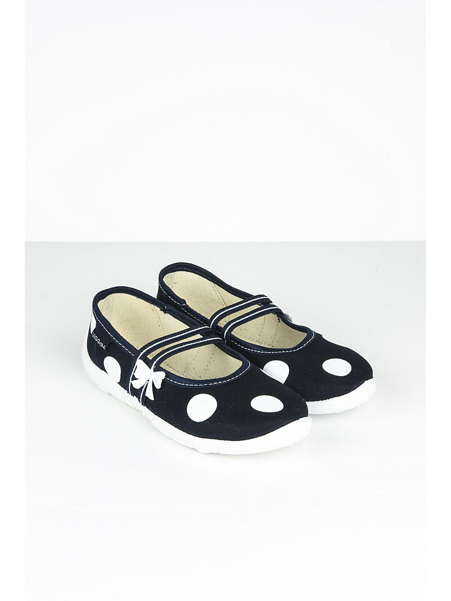 Туфли Little Lemon Bear VI_CE_2_NAVY/navyblue/whitedots