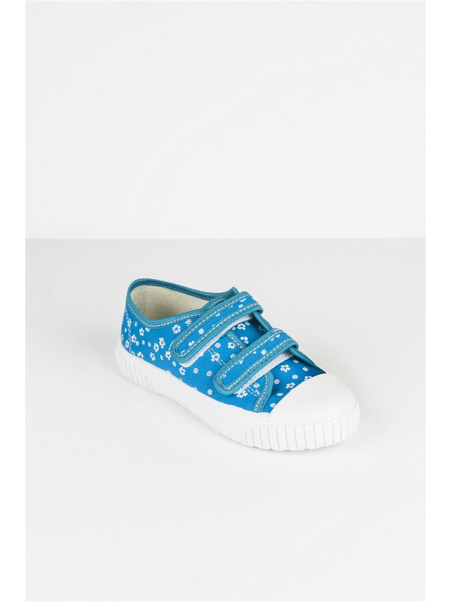 Кеды Little Lemon Bear VI_SNEAKERS_15_FLOWERS/blue
