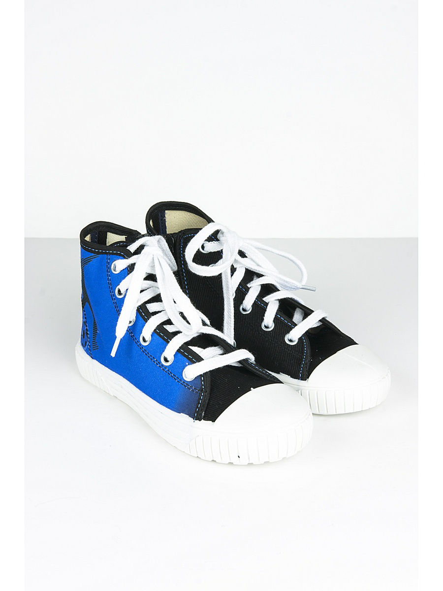 Кеды для мальчиков Little Lemon Bear VI_SNEAKERS_34A_HOBBY_BLUE/blue/black