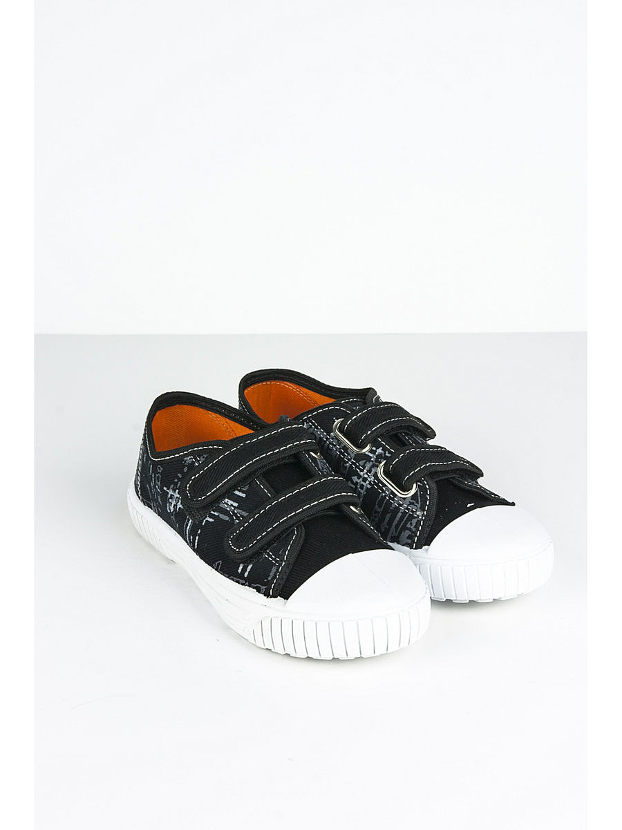 Кеды для мальчиков Little Lemon Bear VI_SNEAKERS_55A_BLACK/black/graphic