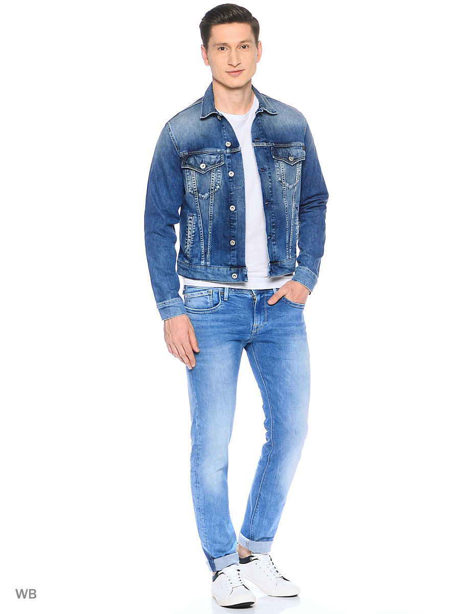 Куртка Pepe Jeans London PM400908M84/000DENIM