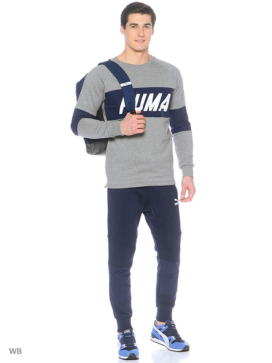Брюки Colorblock Sweat Pants Puma 57241806