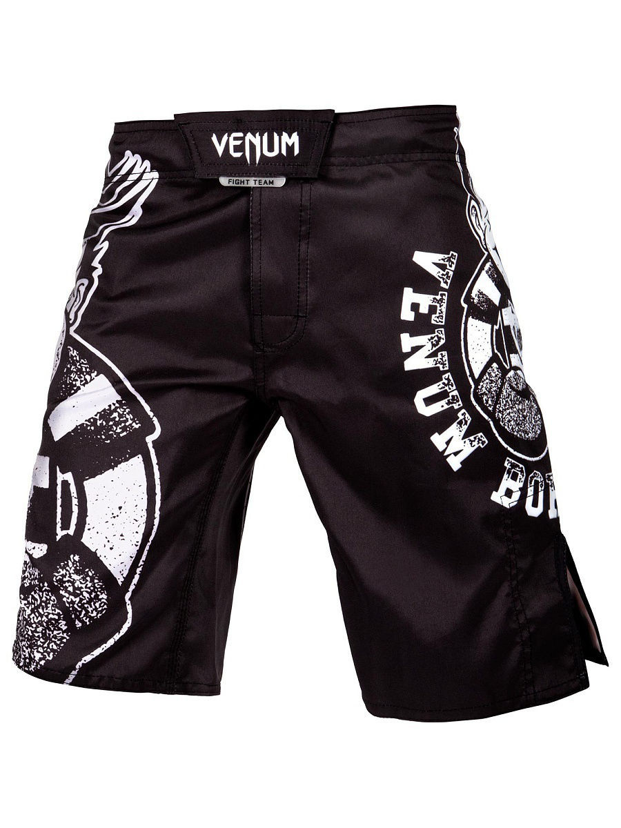Шорты детские Venum Born To Fight Kids Black/White 99264