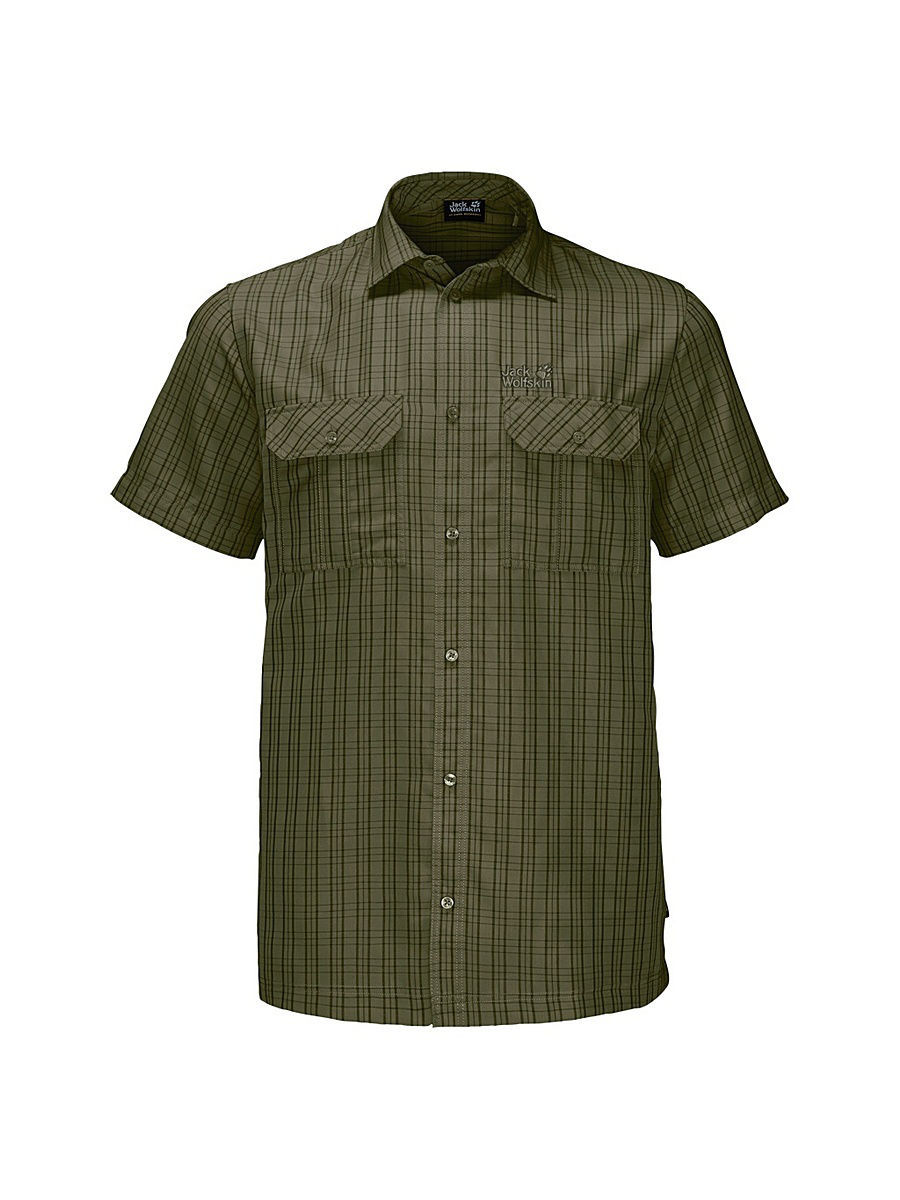 Рубашки Jack Wolfskin Рубашка THOMPSON SHIRT MEN jack wolfskin ja021agwhy28